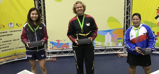 Kompletter Medaillensatz in Taiwan und Korea
